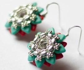DIY Tutorial Minerva Earrings