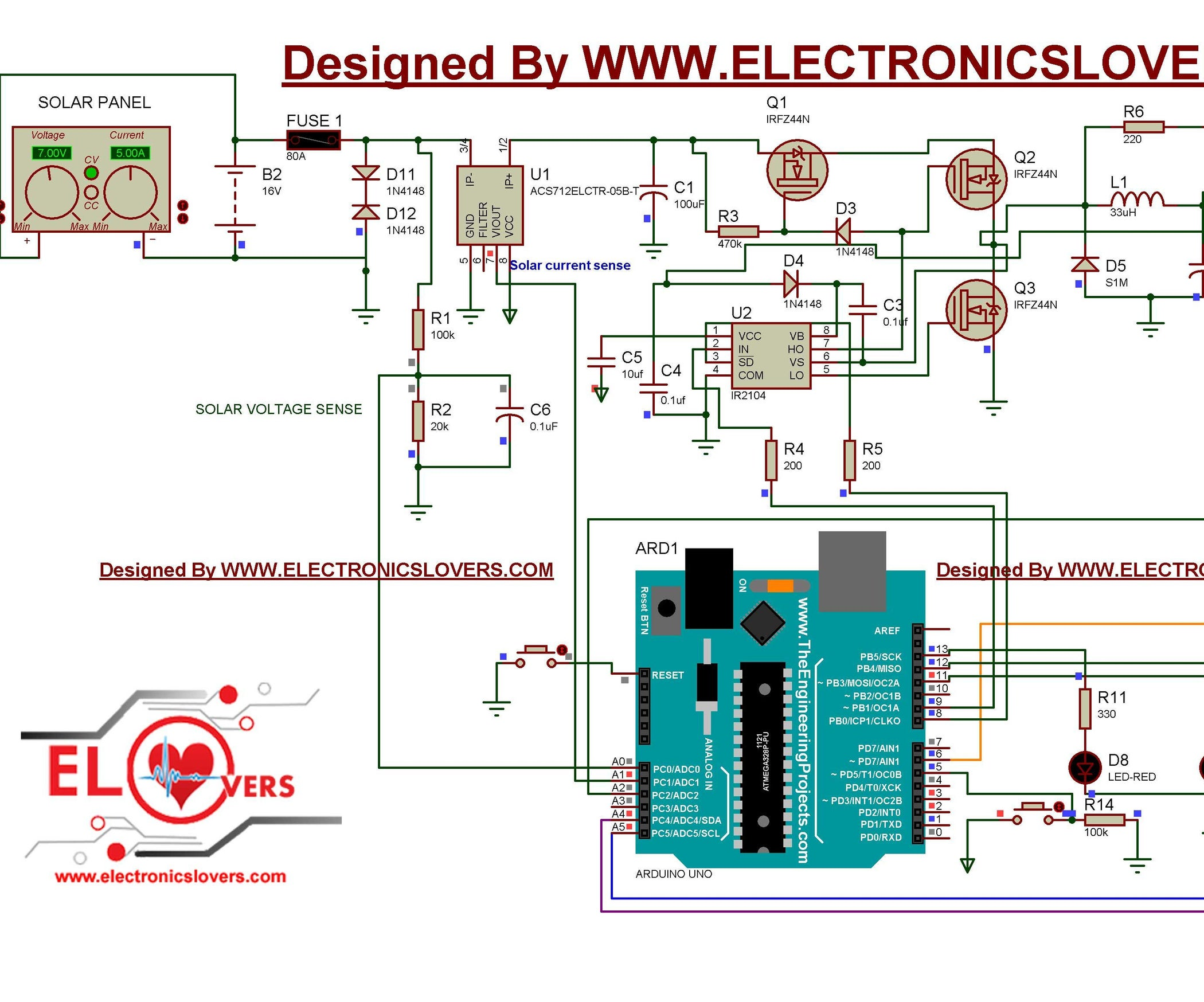 Home Made Maximum Power Point Tracking Mppt Charge Controller Pin Solar Tracker Schematic Diagram On Pinterest Alternative Energy