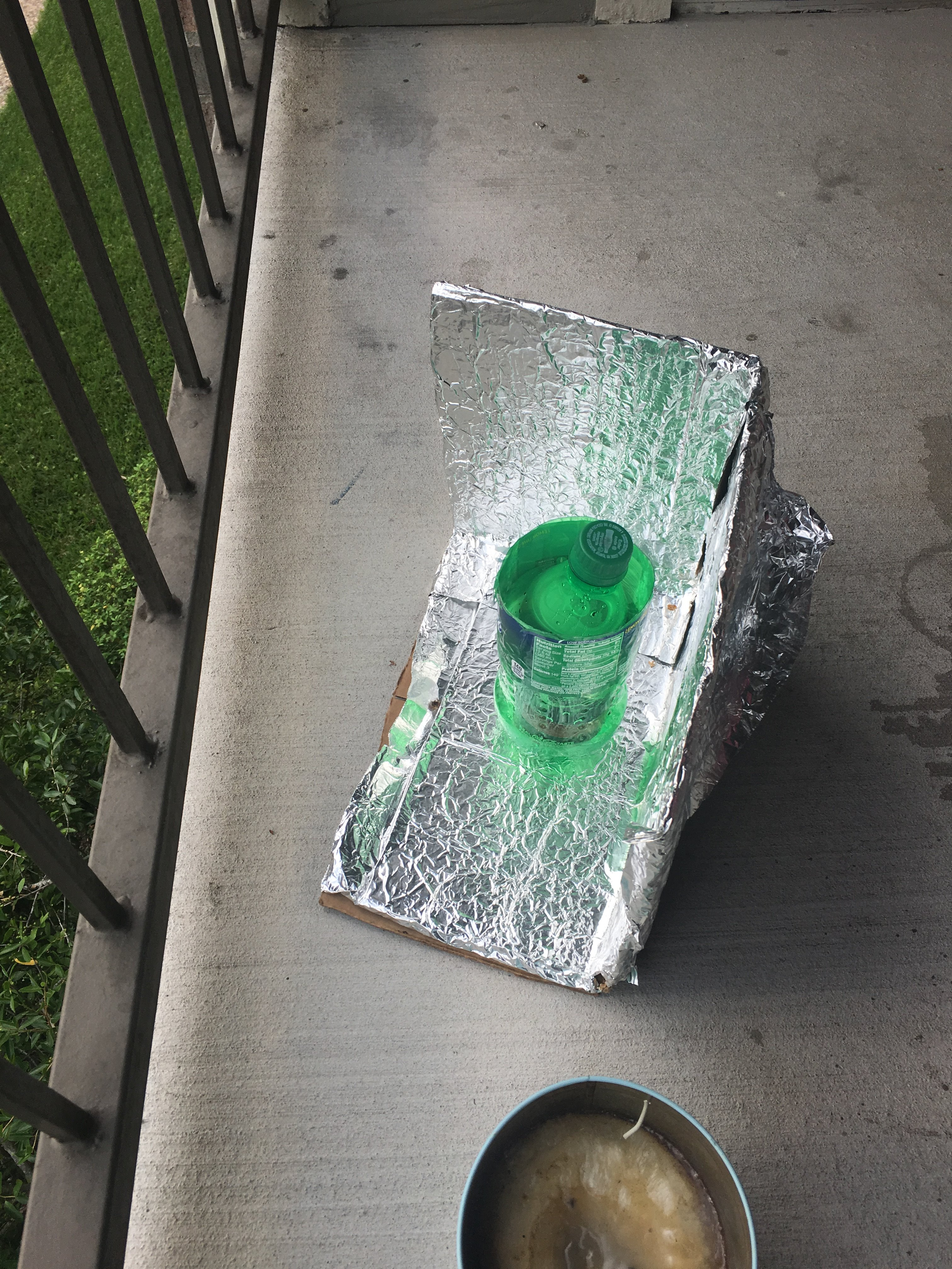 Picture of Solar Water Heater!!! (class Project)