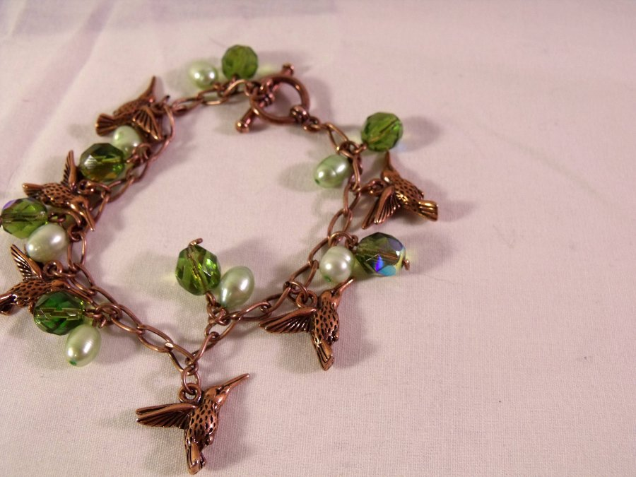Picture of Hummingbird Charm Bracelet