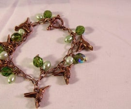 Hummingbird Charm Bracelet