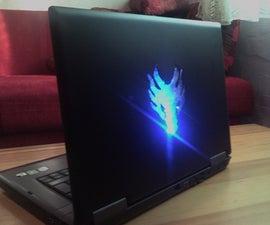 """Laptop housing mod """"DRAGONWARE"""""""
