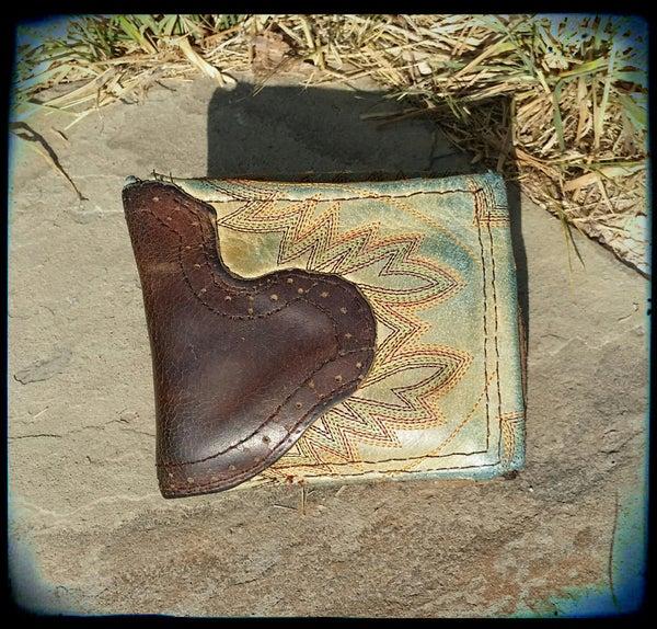 Cowboy Boot Wallet