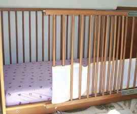 Modified Crib for Parent with Disability