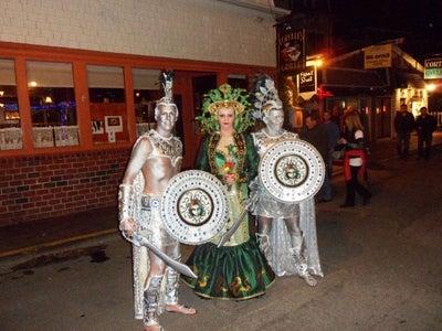 Medusa and Statues Halloween Handmade Costumes 2012