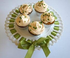 Mini Dungeness Crab Cupcakes