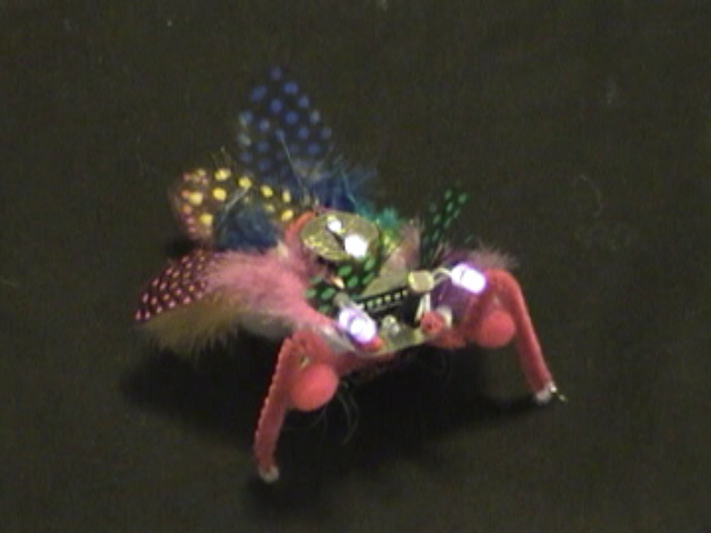 Picture of Buggy - a Crafty Programmable LED Creature