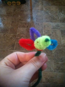 Pipe Cleaner Flowers