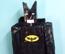 Lego Batman Out of Carton Box and Plastic Bottles