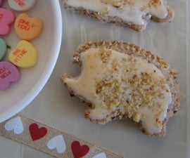 Hedgehog Cookies - Sending hedge-hugs your way this Valentine's Day