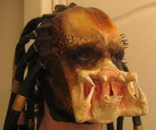 Predator Latex Mask and Bio-Helmet