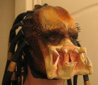 Predator Latex Mask and Bio-Helmet