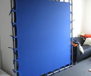 Cheap Portable Chroma Key Screen (Bluescreen)