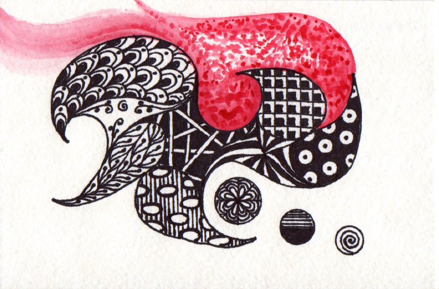 Picture of Zentangle Doodling