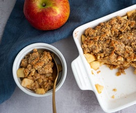 Apple Crumble With Oats