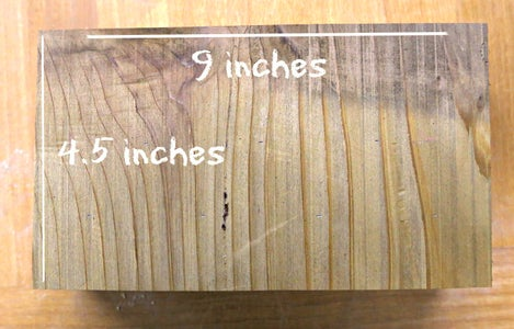 Cutting and Drilling Wood