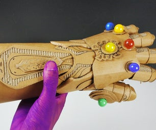 DIY Avengers Unlimited Gloves