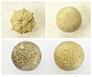 DIY Knobs Using Polymer Clay