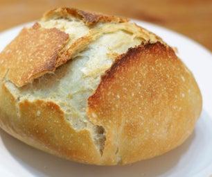 Easy No Knead Bread