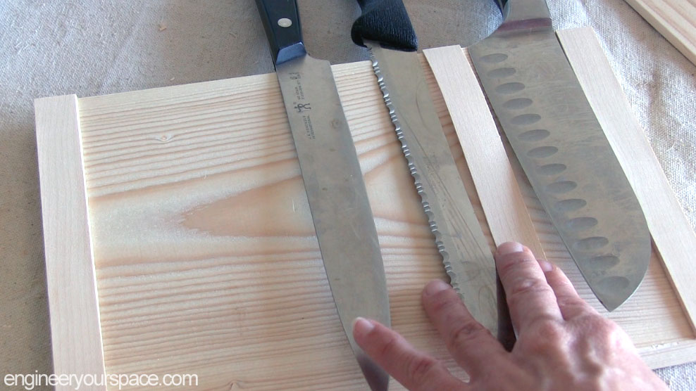 Picture of Determine Spacing for the Knives