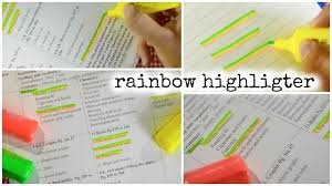Picture of  Easy Rainbow Highlighter