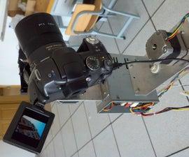 panorama robot head