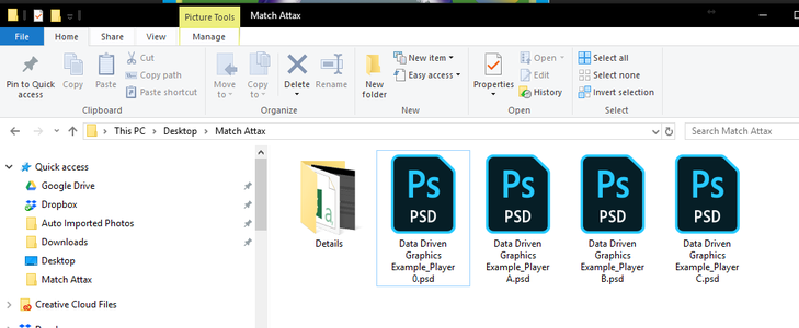 Export the Files.