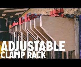 DIY Adjustable Clamp Rack
