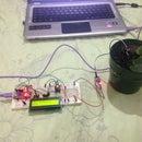 Arduino Nano+Soil Moisture Sensor+LCD