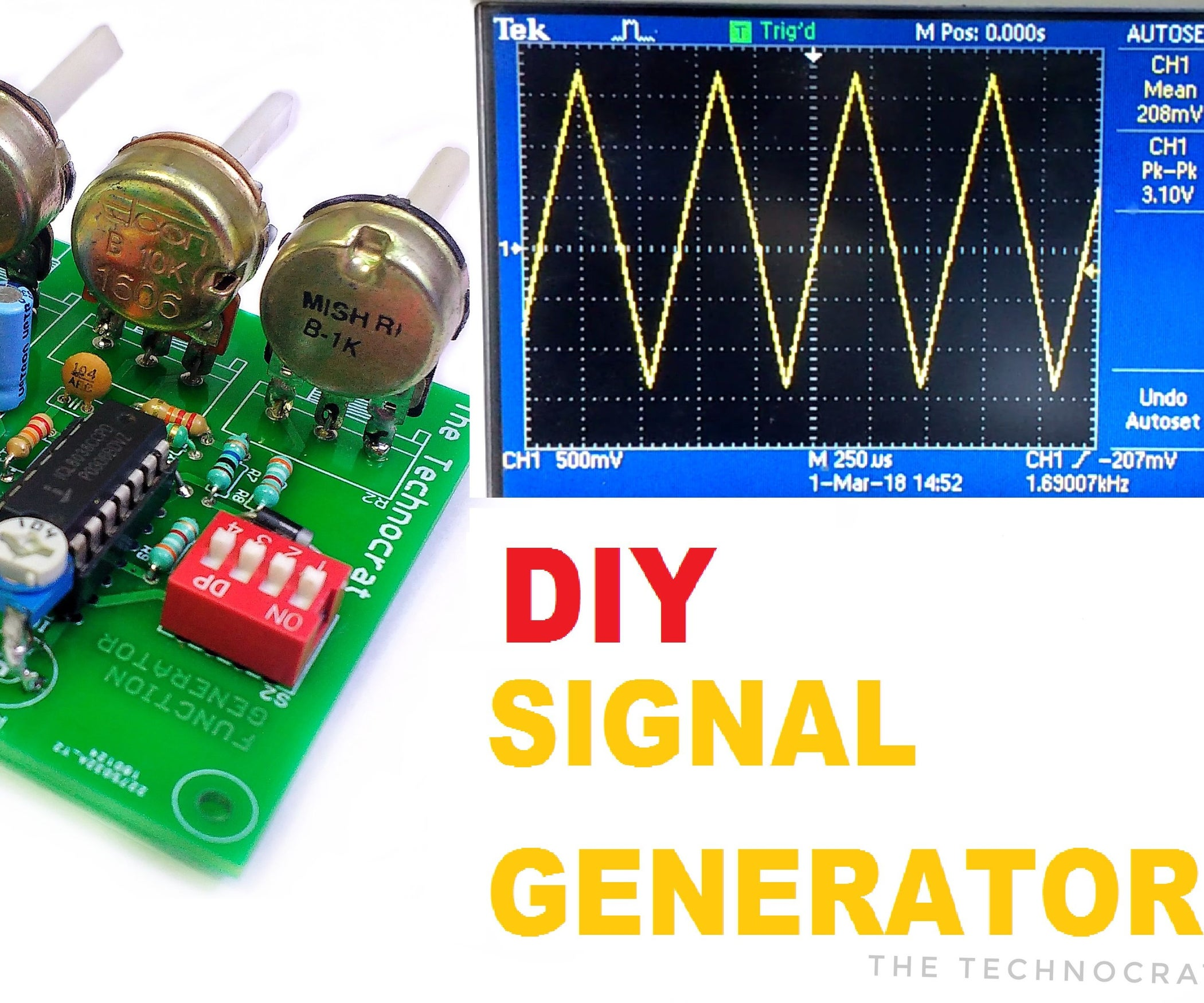How To Make A Signal Generator Learn Generate Electrical Signals Meaning Of Biasing In Electronics Circuits 5 Steps With Pictures
