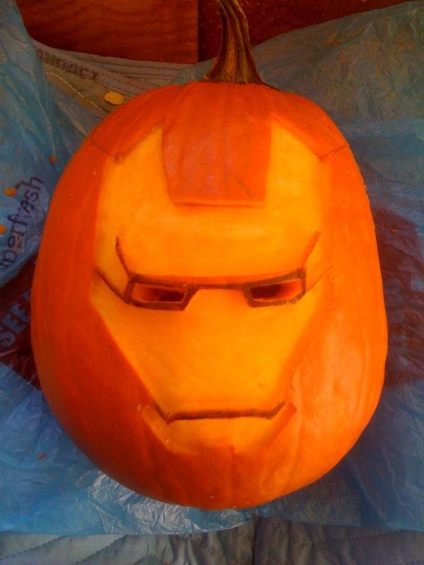 Picture of Iron Man O' Lantern