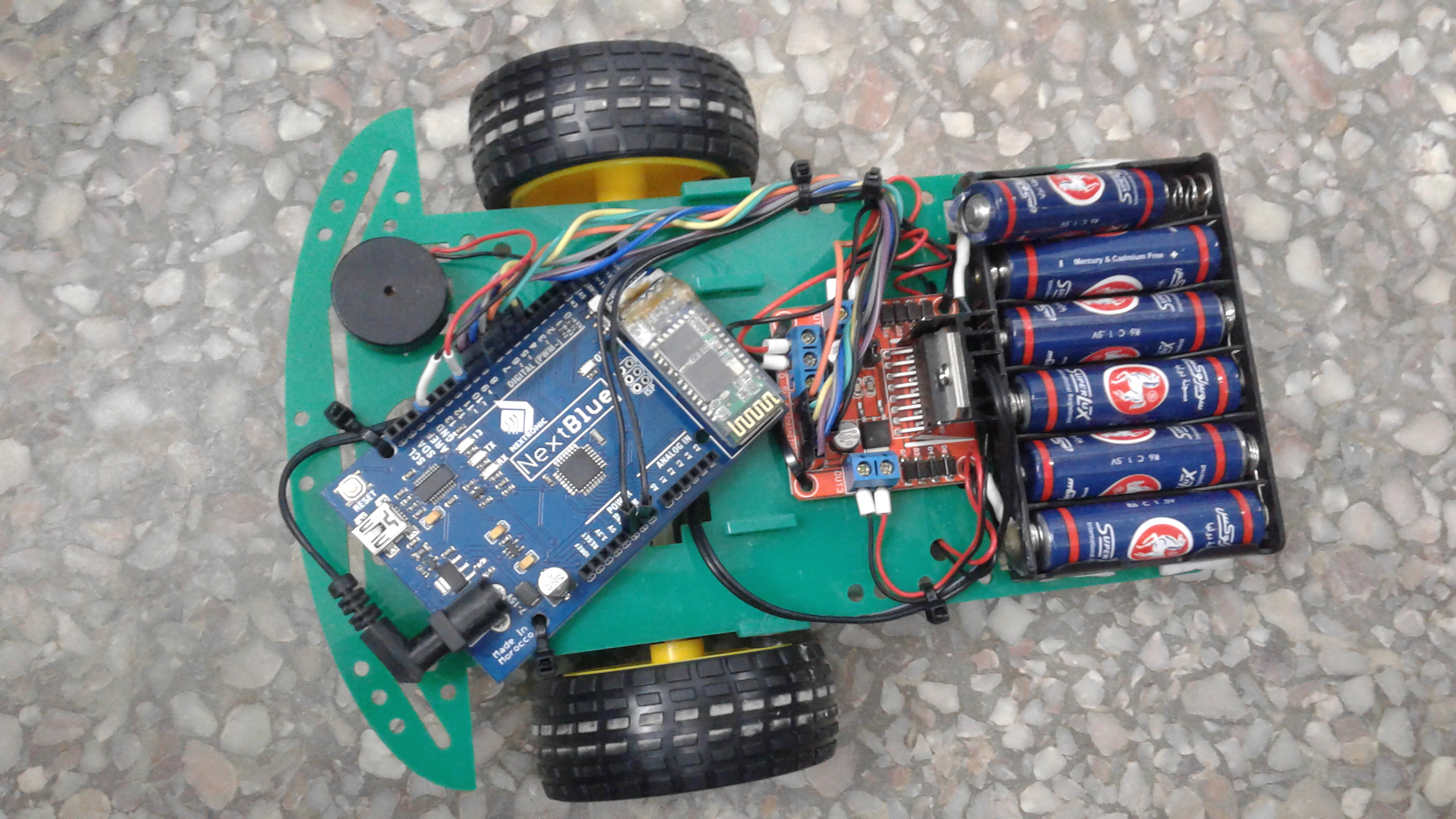 Picture of Robot Didactique V1.0