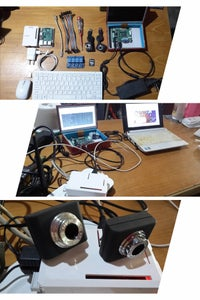 Monitor Camera and Relay Control Over Internet