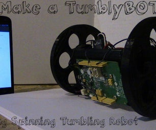 Make a TumblyBOT: Flipping Spinning Tumbling Robot