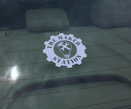 Custom Vinyl Window Decal