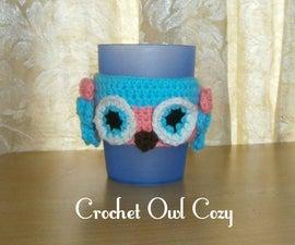 Crochet Spooky Owl Cozy
