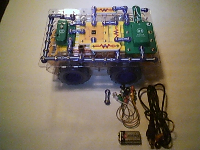 Picture of Build a Circuit for the Light Activated Roverbot