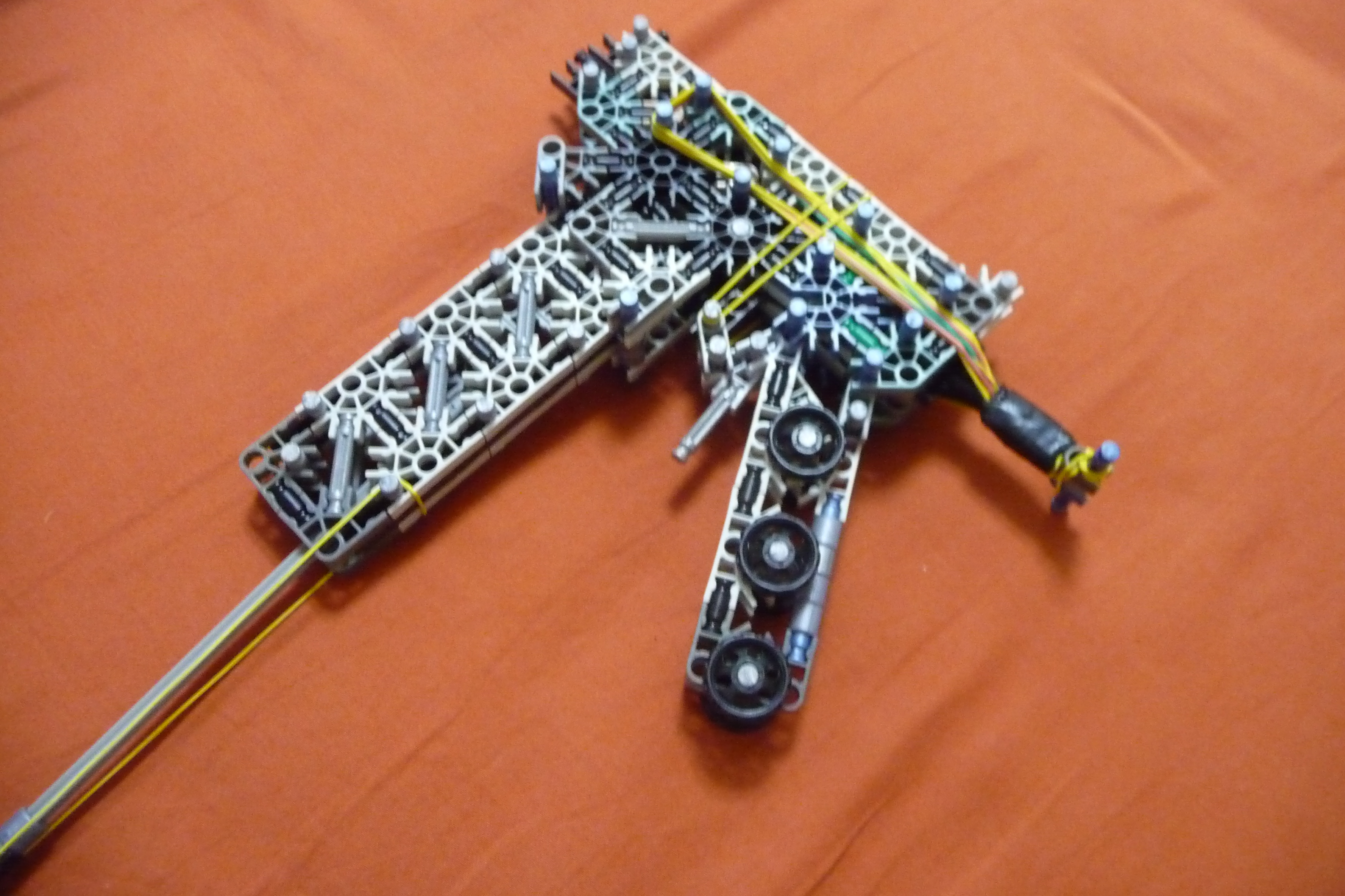 Picture of My K'nex A.R.M. Gun (Awesome Removable Magazine)