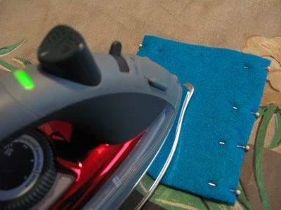 Step 4: Iron