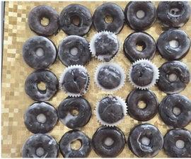 6 Ingredient Glazed Chocolate Donuts, Cupcakes & Cake