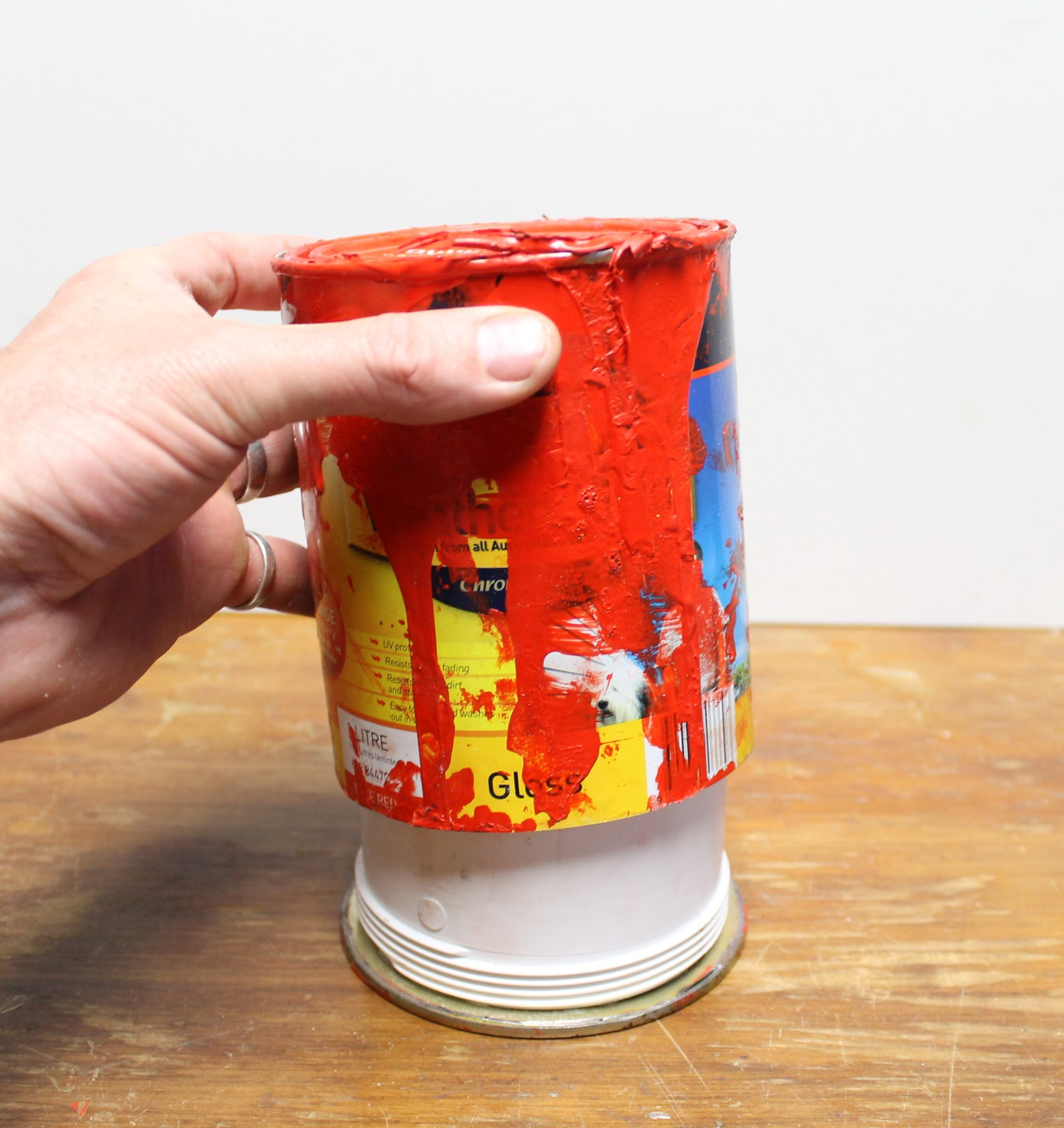 Picture of Old Paint Can Secret Stash