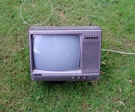 How to take apart TV