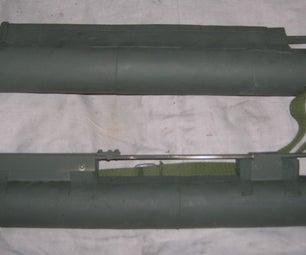 Airsoft M72 LAW rocket launcher