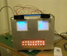 Build an Arduino-powered talking robot head!