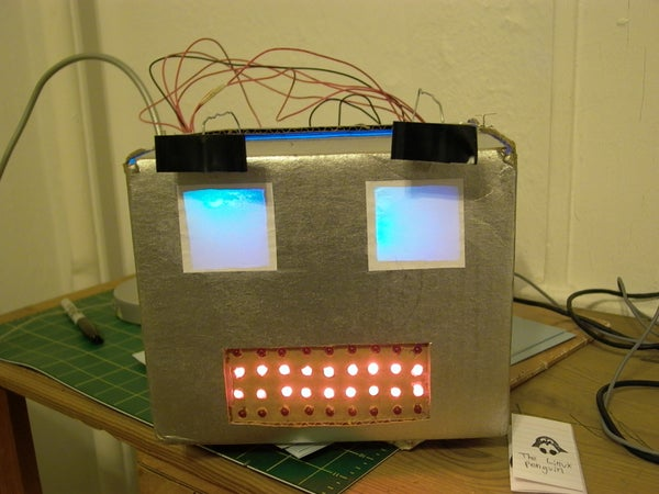 Build an Arduino-powered Talking Robot Head!