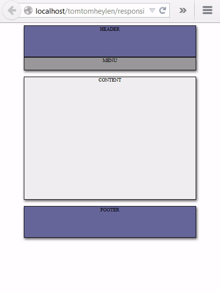 Picture of HTML &  Css for Resizable Web Design