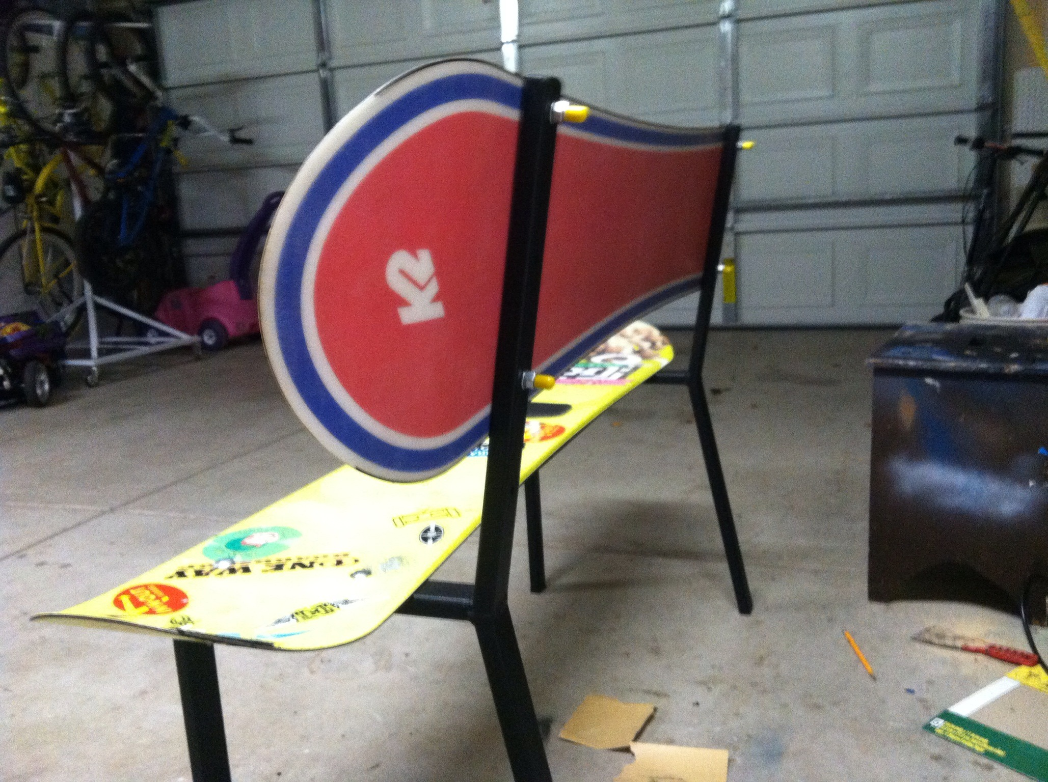 Picture of Snowboard Bench