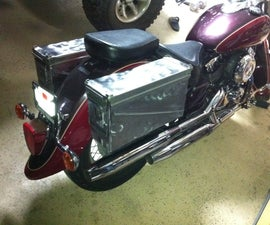 Ammo Can Motorcycle Saddlebags