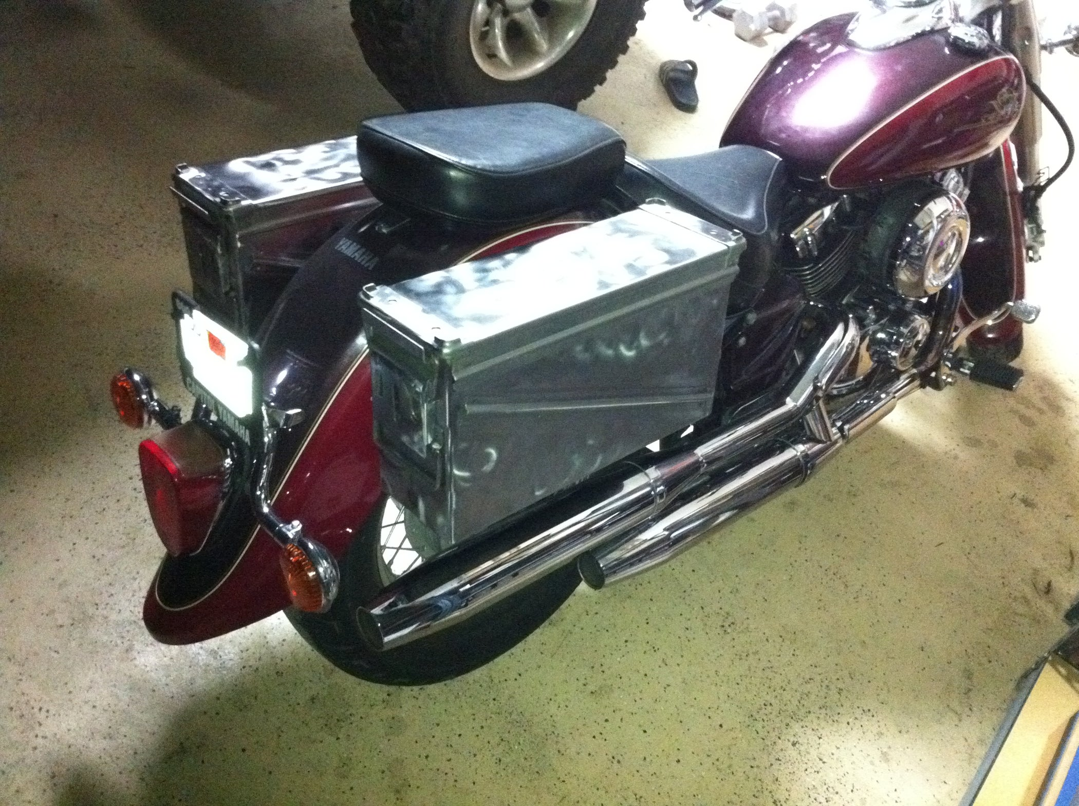Ammo Can Motorcycle Saddlebags 5 Steps With Pictures