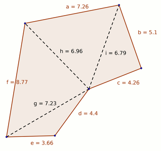 Triangulating a Complex Shape